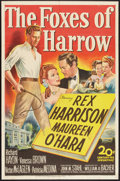 "Movie Posters:Drama, The Foxes of Harrow (20th Century Fox, 1947). One Sheet (27"" X 41""). Drama.. ..."