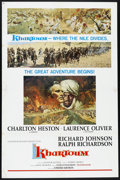 "Movie Posters:Adventure, Khartoum (United Artists, 1966). One Sheet (27"" X 41"") Style B.Adventure.. ..."