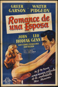 """Movie Posters:Drama, The Miniver Story (MGM, 1950). Argentinean Poster (29"""" X 43""""). Drama.. ..."""