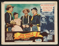 """She Wore a Yellow Ribbon (RKO, 1949). Lobby Cards (2) (11"""" X 14""""). Western. ... (Total: 2 Items)"""