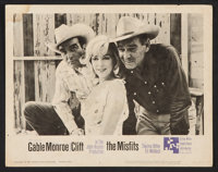 """The Misfits (United Artists, 1961). Lobby Cards (4) (11"""" X 14""""). Drama. ... (Total: 4 Items)"""