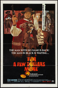 """For a Few Dollars More (United Artists, 1967). One Sheet (27"""" X 41""""). Western"""