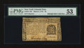 Colonial Notes:New York, New York March 5, 1776 $2 PMG About Uncirculated 53....