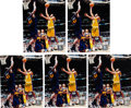 Autographs:Photos, Kobe Bryant Signed Photographs Lot of 5.... (Total: 5 items)