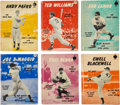 Baseball Collectibles:Programs, 1951 Barnes All-Star Library Books Lot of 6.... (Total: 6 card)