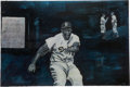 Baseball Collectibles:Others, Jackie Robinson Original Painting....