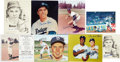 Autographs:Photos, Pee Wee Reese Signed Photograph Lot of 8.... (Total: 8 items)