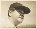 Baseball Collectibles:Photos, Circa 1930's Babe Ruth Original Photograph....