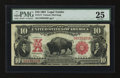 Large Size:Legal Tender Notes, Fr. 117 $10 1901 Legal Tender PMG Very Fine 25....