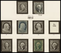 Stamps, U.S. Collection, 1847-1963,... (Total: 1 Album)