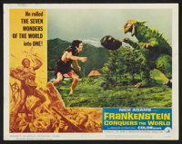 "Frankenstein Conquers the World (American International, 1966). Lobby Card Set of 8 (11"" X 14""). Horror. ... (..."