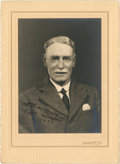 Golf Collectibles:Autographs, 1893 Willie Auchterlonie Signed Photograph....