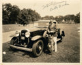 Golf Collectibles:Autographs, Circa 1931 Billy Burke Signed Photograph....