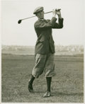 Golf Collectibles:Autographs, 1933 George Duncan Signed Photograph....