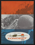 "Movie Posters:War, The Longest Day Lot (20th Century Fox, 1962). Programs (2) (9"" X12""). War.. ... (Total: 2 Items)"