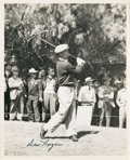 Golf Collectibles:Autographs, 1950's Ben Hogan Signed Photograph....