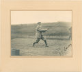 Golf Collectibles:Autographs, Circa 1900 Johnny Laidlay Signed Photograph....