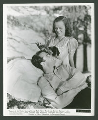 """George Raft, Henry Fonda, and Dorothy Lamour in """"Spawn of the North"""" (Paramount, 1938). Stills (10) (8"""" X..."""