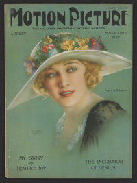 "Motion Picture Magazine (Brewster, 1924). Magazine (Multiple Pages, 8.5"" X 11.5""). Miscellaneous"