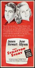 "Movie Posters:Sports, The Stratton Story (MGM, R-1956). Three Sheet (41"" X 81""). Sports.. ..."