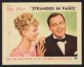 """Movie Posters:Comedy, Artists and Models Abroad (Paramount, 1938). Lobby Card Set of 8(11"""" X 14""""). Comedy. International Title was Stranded in ...(Total: 8 Items)"""