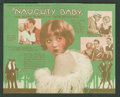 """Movie Posters:Comedy, Naughty Baby (First National, 1928). Herald (5.5"""" X 7"""", Folded Out). Comedy.. ..."""