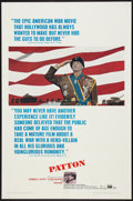"Movie Posters:War, Patton (20th Century Fox, 1970). One Sheet (27"" X 41""). War.. ..."