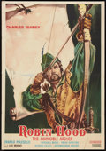 "Movie Posters:Adventure, Robin Hood: The Invincible Archer (D.C. Films, 1970). ItalianFoglio (27.25"" X 38.75""). Adventure.. ..."
