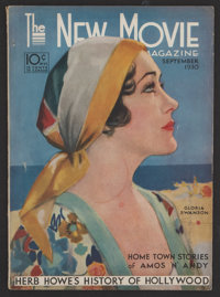 "The New Movie Magazine (Tower, 1930). Magazine (Multiple Pages, 8.5"" X 11.75""). Miscellaneous"