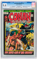 Bronze Age (1970-1979):Adventure, Conan the Barbarian #17 (Marvel, 1972) CGC NM 9.4 Off-white to white pages....
