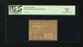 Colonial Notes:North Carolina, North Carolina August 8, 1778 $1/8 PCGS About New 53....