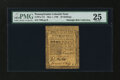 Colonial Notes:Pennsylvania, Pennsylvania May 1, 1760 20s PMG Very Fine 25....