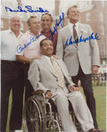 Autographs:Photos, Brooklyn Dodgers Multi-Signed Photograph....