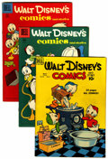 Golden Age (1938-1955):Cartoon Character, Walt Disney's Comics and Stories Group (Dell, 1950-58) Condition:Average FN.... (Total: 7 )