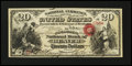 National Bank Notes:Colorado, Denver, CT - $20 Original Fr. 427 The Colorado NB Ch. # 1651. ...