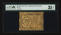 Colonial Notes:Continental Congress Issues, Continental Currency May 10, 1775 $8 PMG Choice Very Fine 35EPQ....