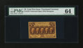 Fractional Currency:First Issue, Fr. 1279 25c First Issue PMG Choice Uncirculated 64....