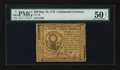 Colonial Notes:Continental Congress Issues, Continental Currency May 10, 1775 $30 PMG About Uncirculated 50Net....