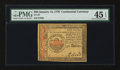 Colonial Notes:Continental Congress Issues, Continental Currency January 14, 1779 $50 PMG Choice Extremely Fine45 EPQ....