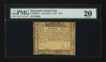 Colonial Notes:Maryland, Maryland December 7, 1775 $1/2 PMG Very Fine 20....