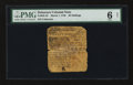 Colonial Notes:Delaware, Delaware March 1, 1758 20s PMG Good 6 Net....