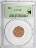 Proof Indian Cents: , 1898 1C PR65 Red PCGS. PCGS Population (27/16). NGC Census: (10/9). Mintage: 1,795. Numismedia Wsl. Price for problem free ...