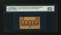 Fractional Currency:First Issue, Fr. 1279 25c First Issue PMG Choice Uncirculated 63 EPQ....