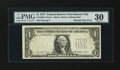 Error Notes:Missing Third Printing, Fr. 1909-? $1 1977 Federal Reserve Note. PMG Very Fine 30.. ...