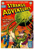 Golden Age (1938-1955):Science Fiction, Strange Adventures #6 (DC, 1951) Condition: FN+....