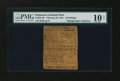 Colonial Notes:Delaware, Delaware February 28, 1746 20s PMG Very Good 10 NET....