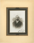 Golf Collectibles:Autographs, 1912 Ted Ray Signed Photograph....