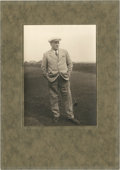 Golf Collectibles:Autographs, 1920's Jack White Signed Photograph....