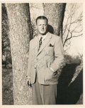 Golf Collectibles:Autographs, 1940's Craig Wood Signed Photograph....