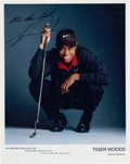 Golf Collectibles:Autographs, 1998 Tiger Woods Signed Photograph....